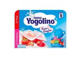 Nestle Yogolino cremoso 3 fresa y 3 frambuesa 6x60g